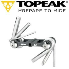 TOPEAK TT2506 MINI 6 Multi Function Bike Tool Hardened Micro Multitool Allen/ PH