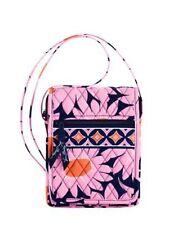 NEW Vera Bradley Mini Hipster Loves Me Pink Blue Flower Cross Body Purse Bag