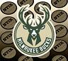 Milwaukee Bucks Logo NBA Die Cut Vinyl Sticker Car Window Hood Bumper Decal