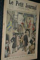 Le petit journal Supplément illustré N°601 / 25-5-1902 / Roi de Suède au Mont