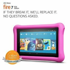 """Amazon Fire 7 Kids Edition 7th Generation Tablet with Alexa 7"""" Display 16 GB"""