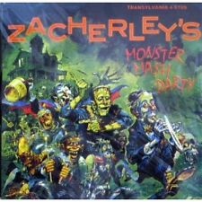 Zacherle- Monster Mash Party CD The Cool Ghoul Halloween (Transylvania) OOP