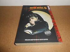 Battle Royale Vol. 5 Manga Book in English
