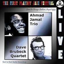 Ahmad Jamal Trio & Dave Brubeck Quartet Live the 1st Playboy Jazz Festival 1959