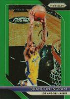 2018-19 Panini Prizm Basketball Green Parallel #26 Brandon Ingram LA Lakers