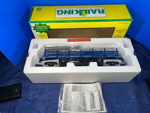 MTH 70-79004 RailKing One Gauge Operating Log Car LN