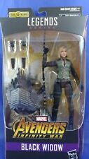 Marvel Legends BLACK WIDOW Avengers Cull Obsidian Wave  BAF PIECE 6""