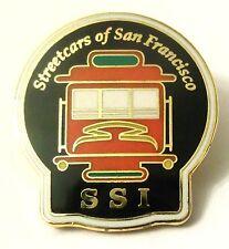 Pin Spilla SSI Streetcars Of San Francisco