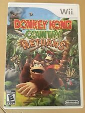 Donkey Kong Country Returns Complete Case Manual