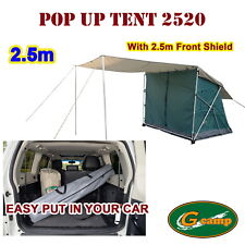 G Camp Pop up Side Tent 2.5m Awning Camper Trailer 4wd Roof Camping Rack 4x4 Car