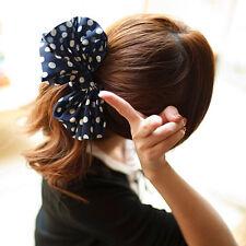 Bandeau Corde Cheveux Anneau Bague Noeud Papillon Pour Femme Fille Élastique NF
