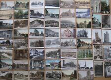 More details for worcestershire job lot of 160 x postcards 1900x50s mainly smaller towns villages