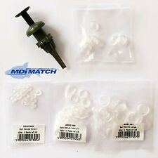 MDI Match Fishing Bait Pellet Bander Tool with 100 Assorted Silicone Bands