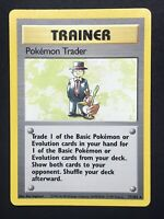 Pokemon Trainer - Pokemon Trader - Base Set - Rare - 77/102