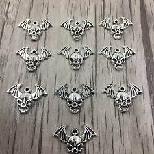 Jewelry Findings Charms Pendants Tibetan Silver bat 10pcs23x16mm
