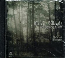 CD album: Brahms - Schumann: works for cello & piano. Colin Carr - Lee Luvis. C5