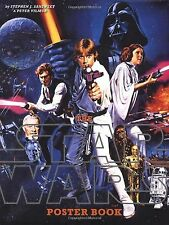 The Star Wars Poster Book 2005 Hardcover Sansweet Empire Strikes Back Jedi