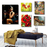 20X16'' Digital Acrylic Paint By Number Kits Art Oil Painting Wall Picture
