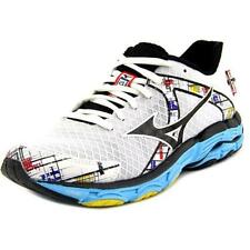 Zapatillas deportivas de mujer Mizuno de tacón bajo (menos de 2,5 cm) de color principal blanco