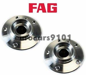 BMW 320i FAG (2) Front Or Rear Wheel Bearing Hub Assemblies 31206876844 57771404