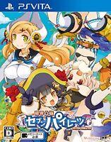 Used PS Vita Genkai Tokki Seven Pirates Japan Import、