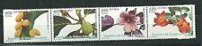 Equatorial GUINEA ECUATORIAL Edifil # 393/396 ** MNH Flores / Flowers
