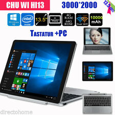 "CHUWI Hi13 4GB+64GB 13.5"" 3000*2000 Intel Apollo lake Tablet PC UK+Teclado"