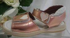 BABY Mädchen Festliche Kinder Schuhe MADE IN ITALY Gr. 25 Rosa Glanz LEDER
