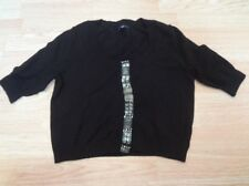 Women's Gap M Black Crop Sweater S/S (T)