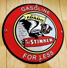 Stinker Gas Oil gasoline sign . Free shipping on any 8 signs