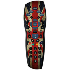 Union Jack Adesivo / PELLE SKY HD controller remoto / Controll Adesivo