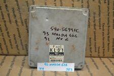 1993 Mazda 626 Engine Control Unit ECU KL01188881D Module 771 -5E3