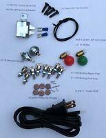Lionel ZW Transformer Repair Kit  (L cord,diodes,rollers, rivets,circuit breaker