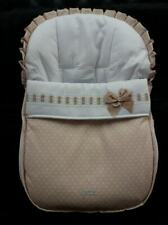 Brand new Spanish beige and white car chair cover