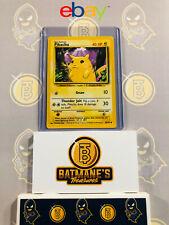 Pikachu 58/102 Nm Near Mint Yellow Cheeks Base Set Non-Holo Pokemon Card