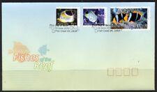 2010 Australia - Fishes of the Reef Pt 2 FDI  FDC