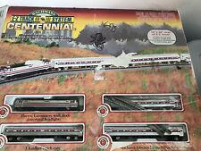 Bachmann Ez Track Centennial Amtrack Open Box Train Set 34 x 24