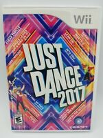 Just Dance 2017 (Nintendo Wii, 2016) Complete Tested