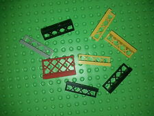 Lot de Barrieres  LEGO fence  set 10214 1703 362 550 704 9650 7822 4556