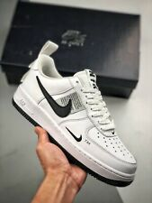 """NIKE AIR FORCE 1 LV8 UTILITY """"WHITE"""" (CQ4611 100) TRAINERS SIZE UK 12-13"""