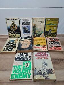Vintage Pan Corgi Book Bundle Job Lot x10 - WW2 War Escape & Evasion Colditz