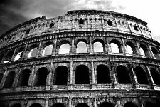STUNNING ROME COLOSSEUM CITYSCAPE CANVAS #503 QUALITY CANVAS PICTURE ART A1