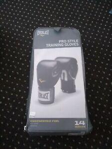 Everlast, pro style boxing, training gloves
