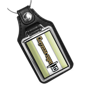Compatible with 1970's Chevrolet Cheyenne Super 10 Emblem Design Key Ring FOB