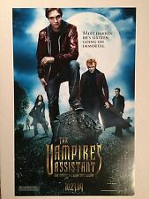 THE VAMPIRE'S ASSISTANT 11x17 PROMO MOVIE POSTER