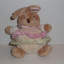 Doudou Lapin Babynat Baby Nat' - Marron Rose