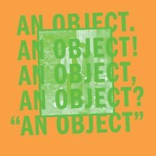 No Age : An Object CD (2013) ***NEW***