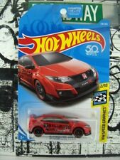 '18 HOT WHEELS 2016 HONDA CIVIC TYPE R 1:64 SCALE HW SPEED GRAPHICS SERIES