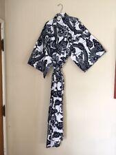 Japanese Kimono Yukata - Blue and  White Dragon Pattern - 100% Cotton