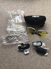 BNIP Ladgecom Cycling Glasses With Interchangable Lenses